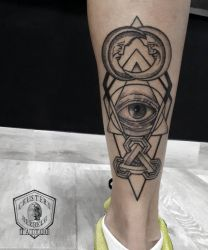 Illuminati geometric by Chusters