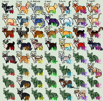.:56 10 Point Cat Adopts:. OPEN 33 LEFT by MaidenOfTheMacabre