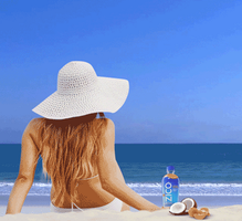 Zico Beach Woman Cinemagraph by Risket