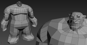 Darksiders  Ulthane WIP by 3DPad