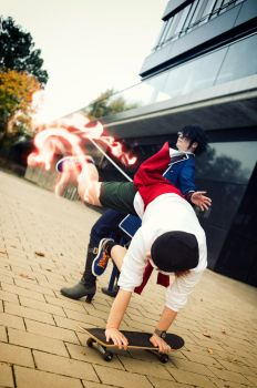 K project - Right Kick by kayleighloire