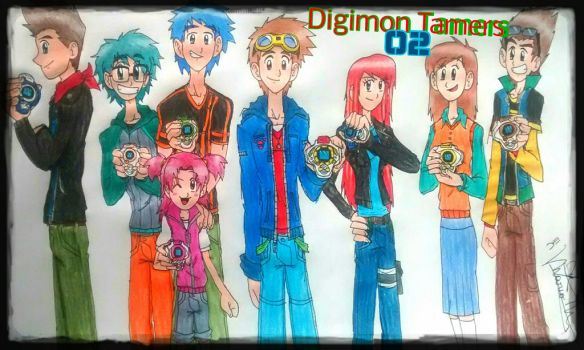 Digimon Tamers 02 by digiphantom1994