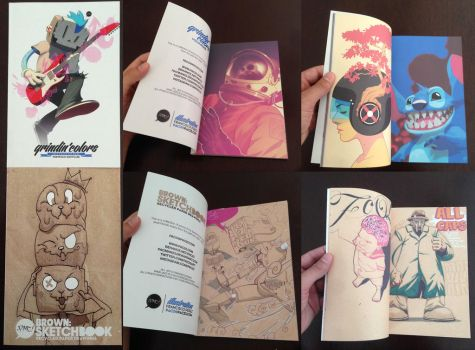 NEW ARTBOOK! by pacman23