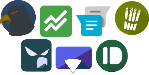Inkscape Material App Icons 02 by ersinertan