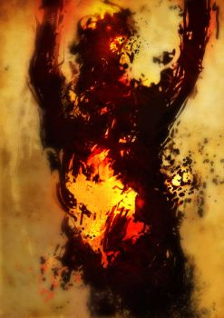 Spontaneous self combustion by torvenius
