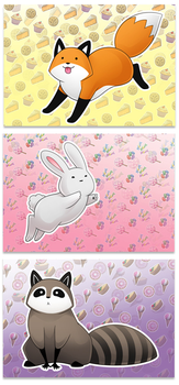 Sweet Dreams - Limited Edition Print Pack by eychanchan