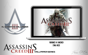 Assassin's Creed 3 Alternative Wallpaper by tazerguy