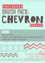 Chevron Borders Photoshop Brushes by youmadeitreal