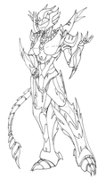 Predacon Wildfire .:commission:. by FlashbackingArtist00