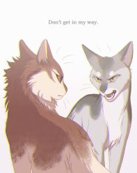 Don't Get In My Way by OwlCoat