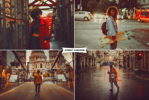 Street Fashion Actions 3 by ViktorGjokaj