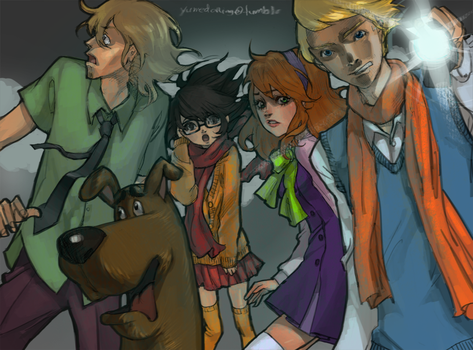 Those meddling kids by yume-darling