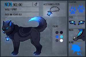 Nion - Reference Sheet by JollyMutt