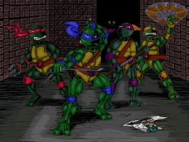 TMNT (Redux 2.0) by Algahiem3