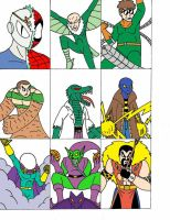 Spider-Man Villains Part 1 by Streetgals9000 by JQroxks21