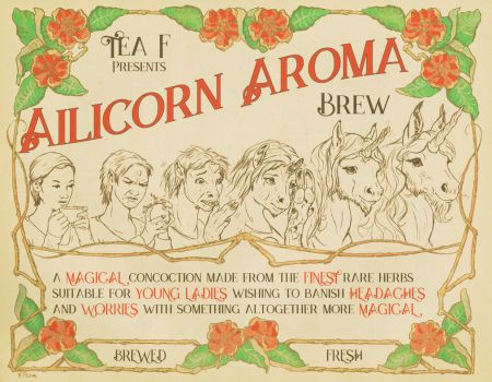 Ailicorn Aroma Tea: Good For What Ails You! by nothere3