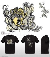 Griffin - Mythical Creatures T-shirt Challenge by fanitsafantasy