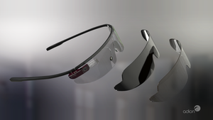 Google Glass V2 by AdionDesigns