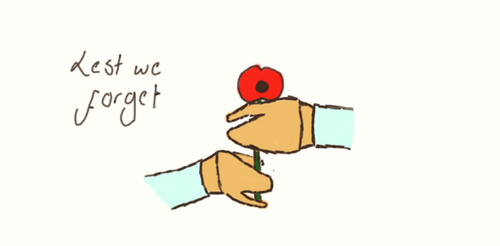 Lest we forget by Butter-Scotch-Kitten