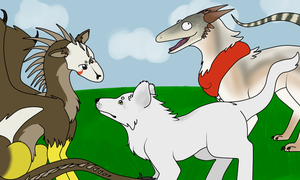 Beasts (Contest Entry) by BlueAvian537