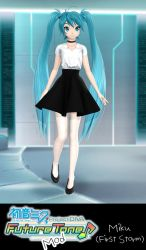Project Diva Future Tone Mod: Miku First Storm by xCrofty