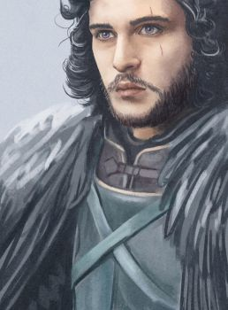Game of Thrones - Jon Snow by kAMRiS