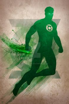 The Green Lantern by mobieus69