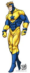 Booster Gold by IzIzIza