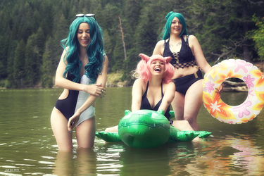 Sailor Moon Swimsuits group by nelene-chan