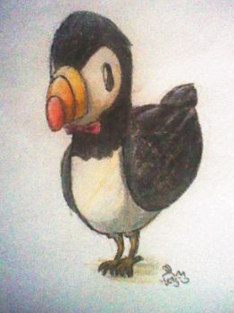 Mr. Puffin by Yellyy