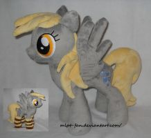 Cute little Derpy Hooves with socks by calusariAC