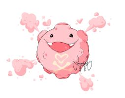 Pokemon Fusion - Koffing/Chansey