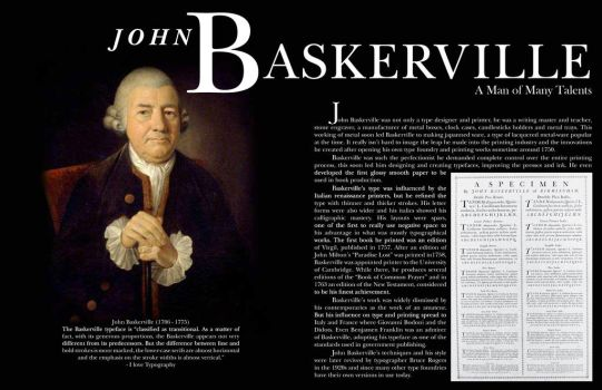 Baskerville two page spread by BelovedUnderwing
