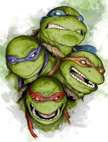 TMNT - Brothers by DynamixINK