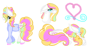 MLP DTA Entry: Sweet 'Angel' Caramel by Dottybobbles