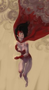Scarlet Witch by atomicman