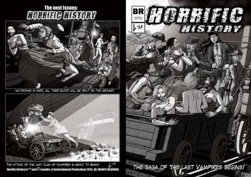 Commisson: Horrific History Shaded Version by leandro-sf