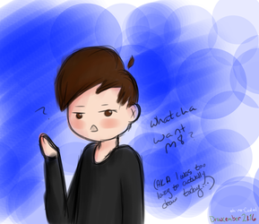 wot u on about m8 (dan) -- Drawcember 28/16 by oh-no-Castiel