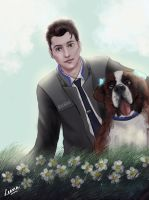 Connor and Sumo by Enigmatic-Elysium