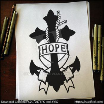 Hope Anchor by hassified