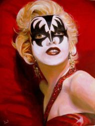 A Kiss from Marilyn by davidreevespayne1