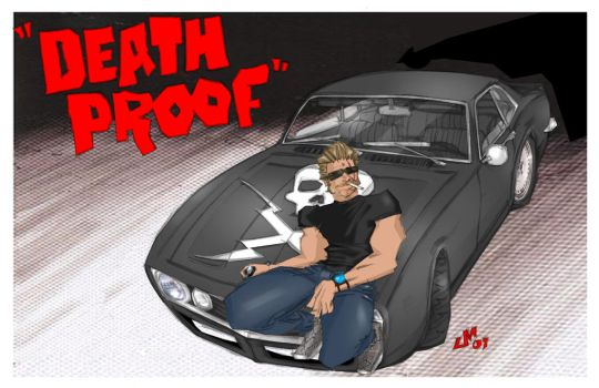 Grindhouse DEATH PROOF final by jasinmartin