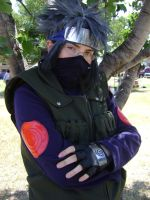 Kakashi Hatake: Waist Up by NobleTanu