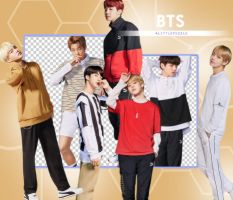 BTS X PUMA (1) (PNG'S) by ALITTLEPUZZLE