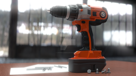 Powerdrill by JesperHarming