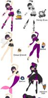My Outfits for Kingdom Hearts by xXBrandonluvaXx