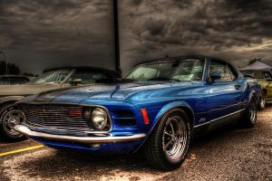 HDR Tutorial  1970 Ford Mustang ColorEFEX by anilync