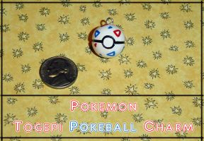Pokemon Togepi Pokeball Charm