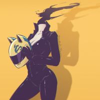 Celty by Koyorin