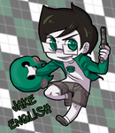 donation chibi - Jake English by RileyAV